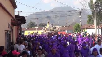 Procesion de Jesus Dulce Rabí, Jocotenango 2014 (2)