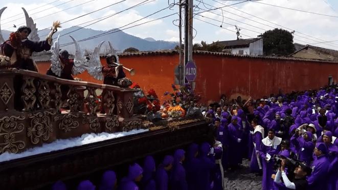 Procesion Jesus de Santa Ana 2014 Antigua Guatemala