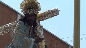 Procesion Jesus de los Milagros 2014, San Jose (28)