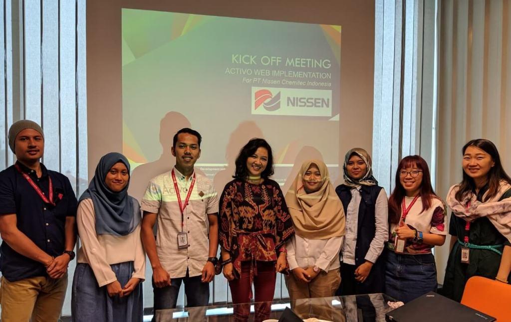 PT Nissen Chemitec Indonesia mempercayakan Pengelolaan Fixed Asset Perusahaan kepada Activo