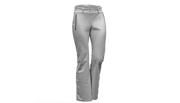 Pantaloni de ski Colmar Shelly alb 0269G-01