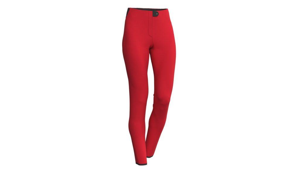 Pantaloni de ski Colmar Damă Softshell Rosu 0267-15