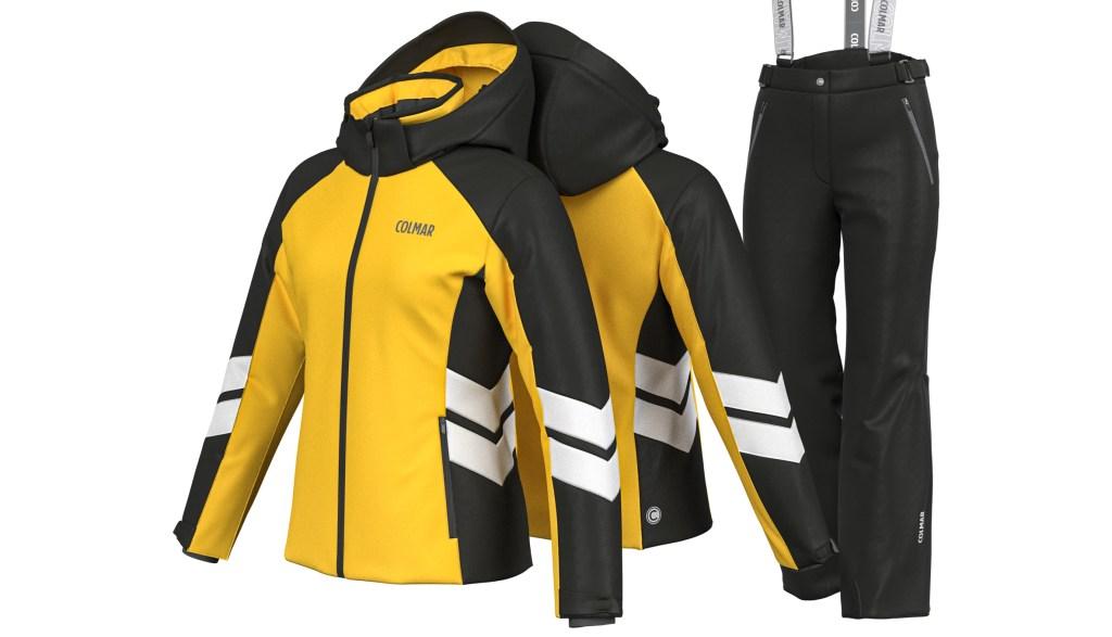 Costum de ski Colmar Copii Fete Galben 3169s-504