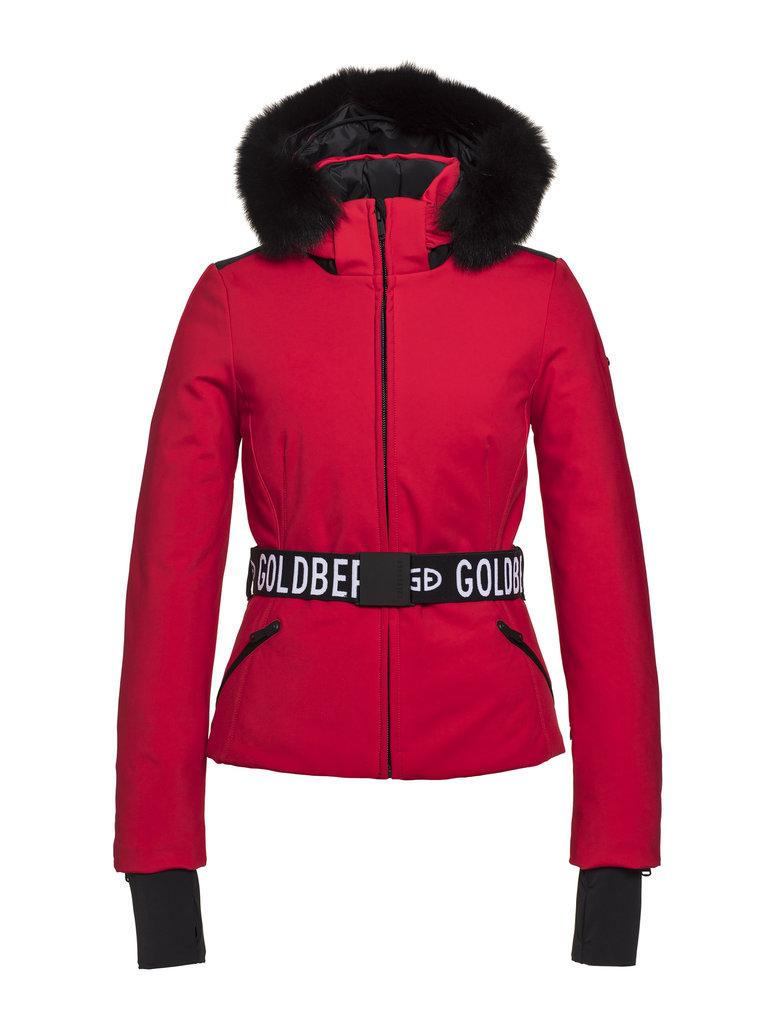Geacă de ski Goldbergh Damă Hida Roșu GB1616204-459