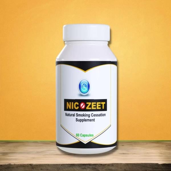 Natural Smoking cessation supplement Nicozeet