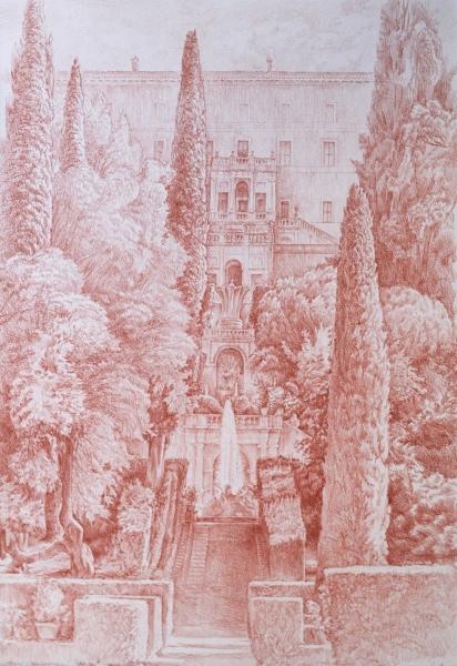 Villa d este 58 x 40 sanguine 1920 72 dpi