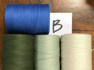 Voting for yarn combinations - B