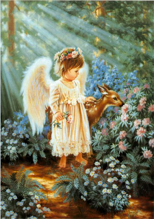 Funny Animated Wallpapers Cute Little Angels Wallpapers Actoractressimageswallpapers