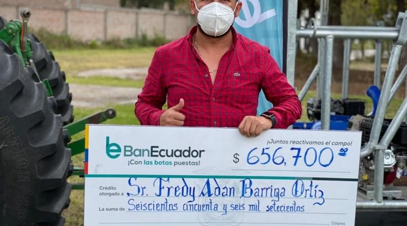 Créditos para reactivar el agro en Chimborazo