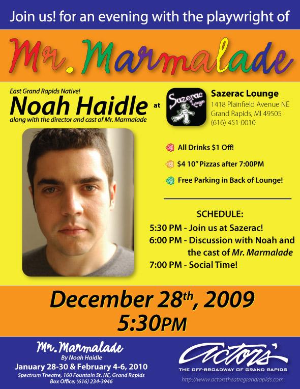 Actors' Theatre Mr. Marmalade