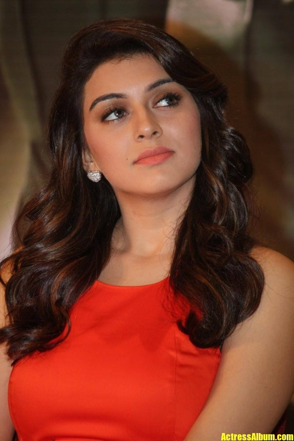 Cute Indian Baby Wallpapers Hd Hansika Hot Photos In Red Dress Actress Album