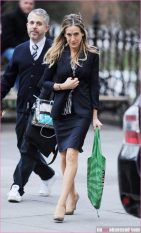 Sarah Jessica Parker with Olivia Munn Film More Scenes for New Movie