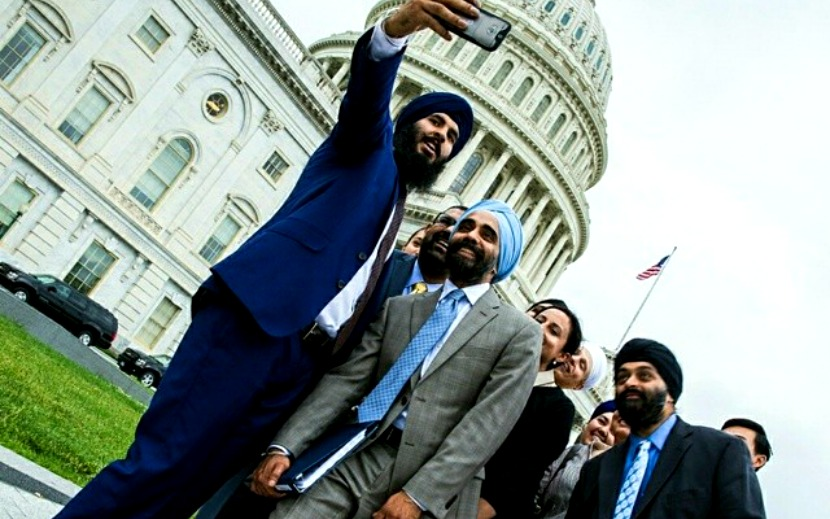 Selfie-ing and campaigning against bullying in the nation's capitol.