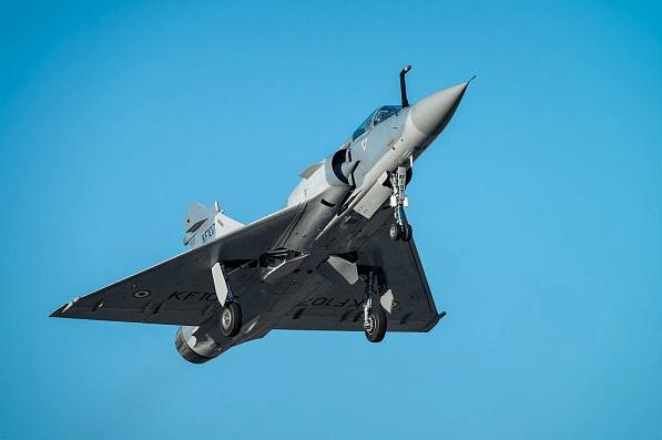 Premier vol du Mirage 2000 indien modernisé