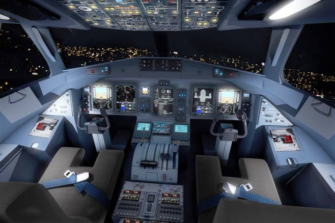 Cockpit ATR 72-600