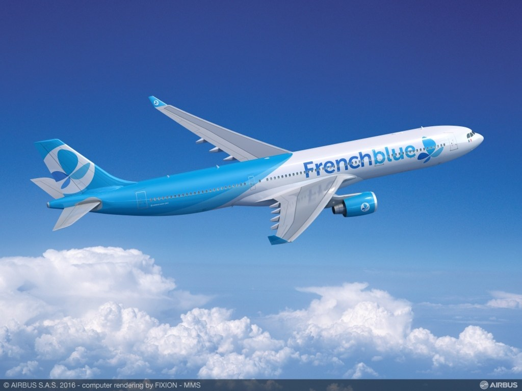 Airbus A330-300 French blue