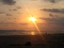 Plage de Santa Teresa un des paradis du surfeur