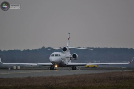 Falcon 8X - ©Dylan Clouet Aviation Photographie – Tous droits réservés