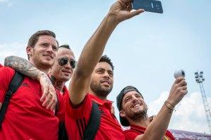 Equipe de football belges Euro 2016 - Brussels Airlines