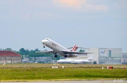 Volotea B717 Take Off - BOD - AAF_Aviation