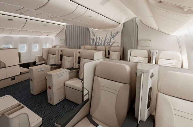 Cabine Club Austral Boeing 777-300 Air Austral
