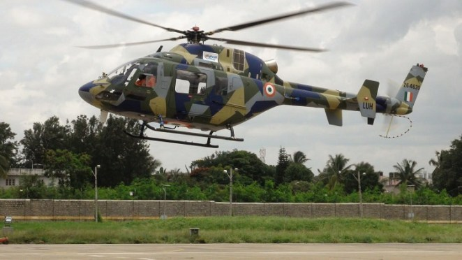 hélicoptère indien LUH (Light Utility Helicopter)