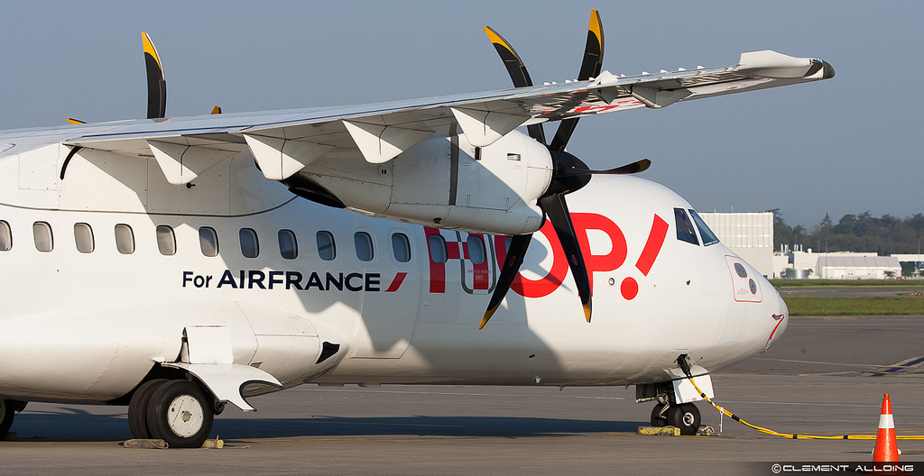 Hop! Air France : ATR42-500 F-GPYK cn 537