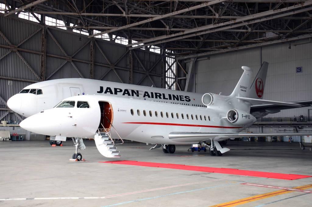 JAL Falcon Business Jet Service