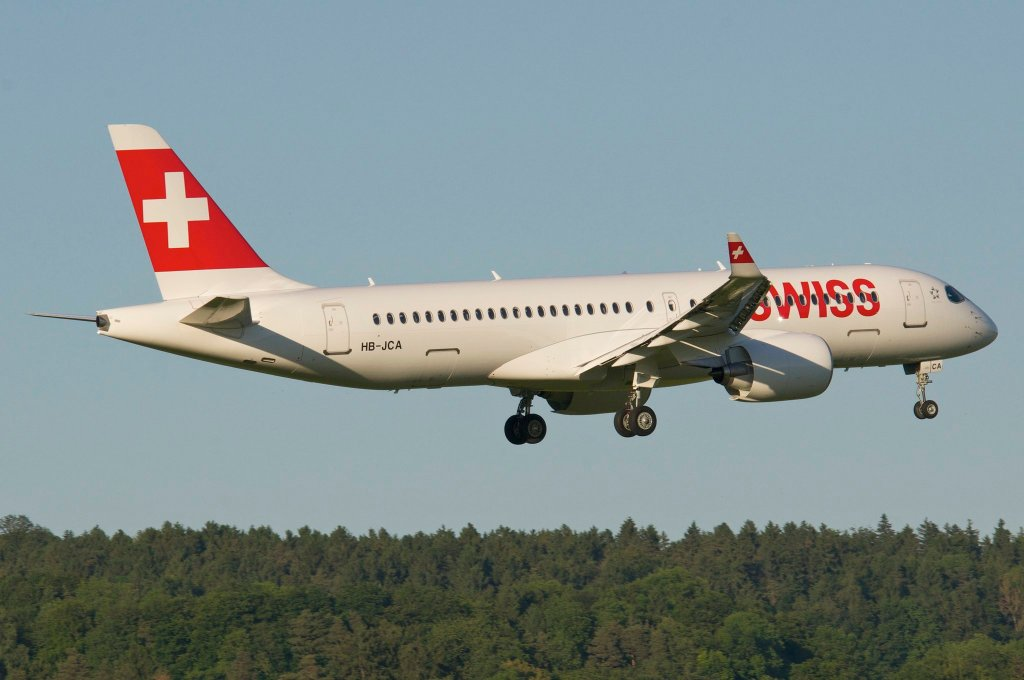 SWISS Bombardier CS300 HB-JCA