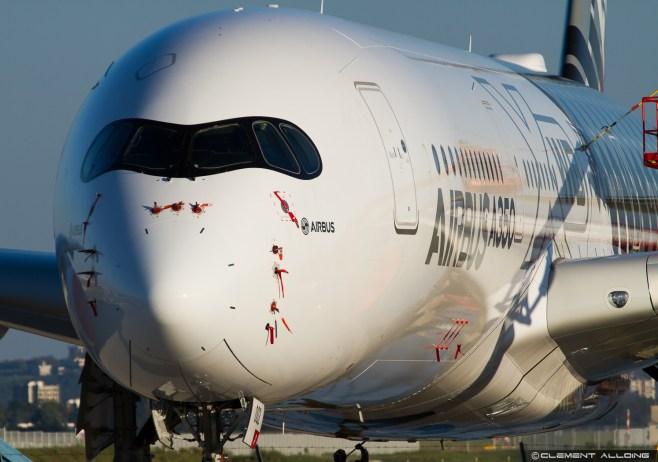 Airbus Industrie Airbus A350-941 cn 002 F-WWCF