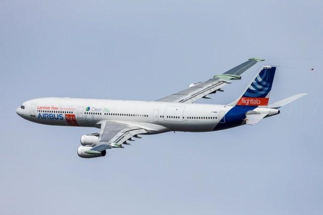 Démonstrateur Airbus A340-300 BLADE