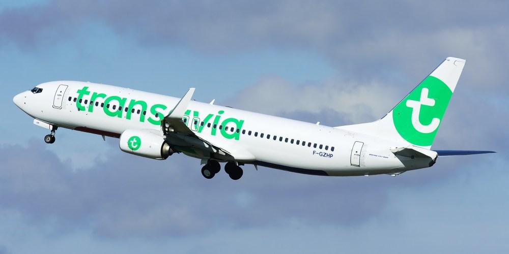 F-GZHP - Boeing 737 Transavia au décollage d'Orly