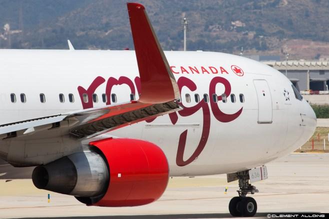 Air Canada Rouge Boeing 767-333(ER)(WL) cn 25588 C-FMXC