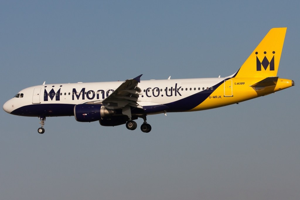 Monarch Airbus A320-232