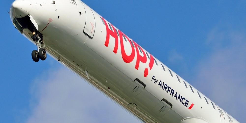 CRJ 1000 HOP! Air France
