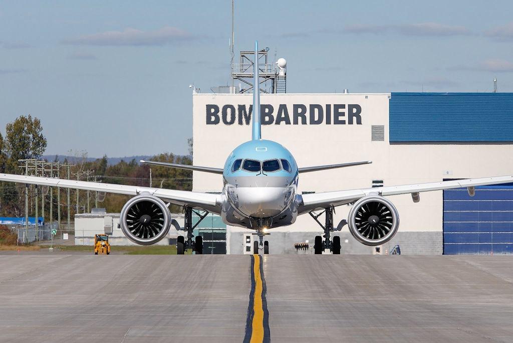 Bombardier CS300 Korean Air