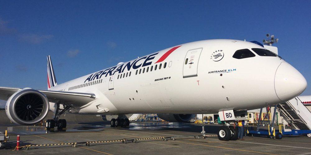 4e Boeing 787 Air France
