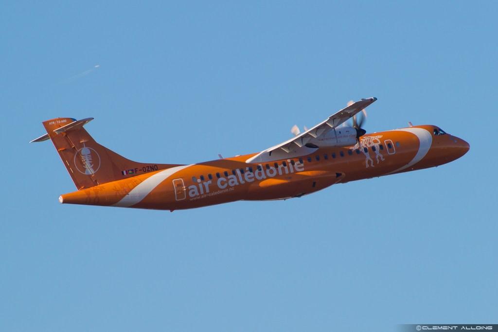 Air Calédonie ATR 72-600 (72-212A) cn 1472 F-OZNO