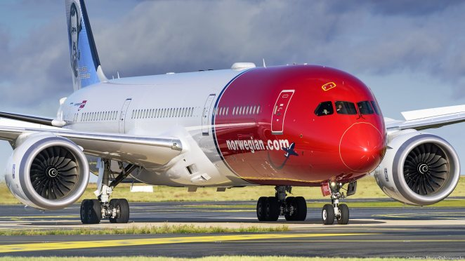 Boeing 787-9 Norwegian