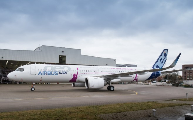 Le premier A321LR ACF