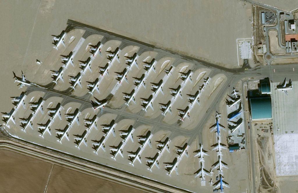Vue satellite du site de Teruel