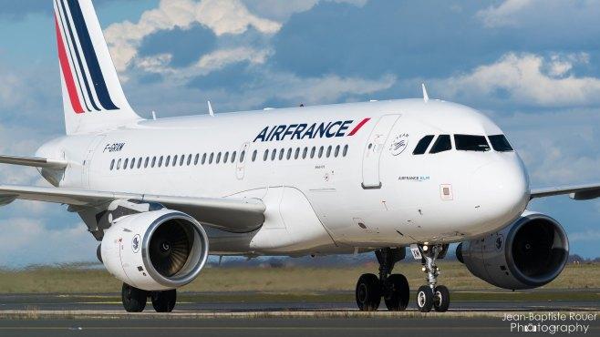 Airbus A319-111 Air France F-GRXM