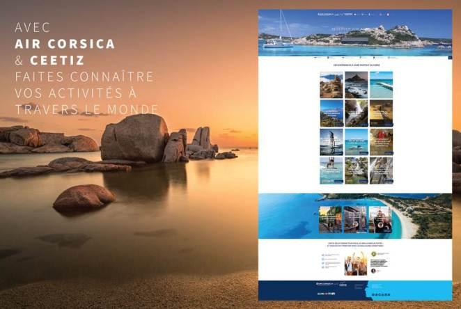 Nouveau site Air Corsica & Ceetiz
