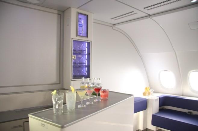 Bar Lounge des A380