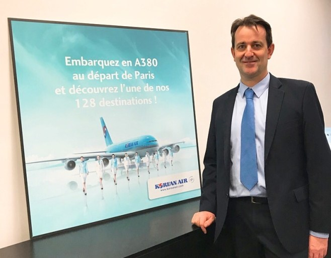 Ludovic Froidure, Directeur Général France, Scandinavie et Pays baltes Korean Air