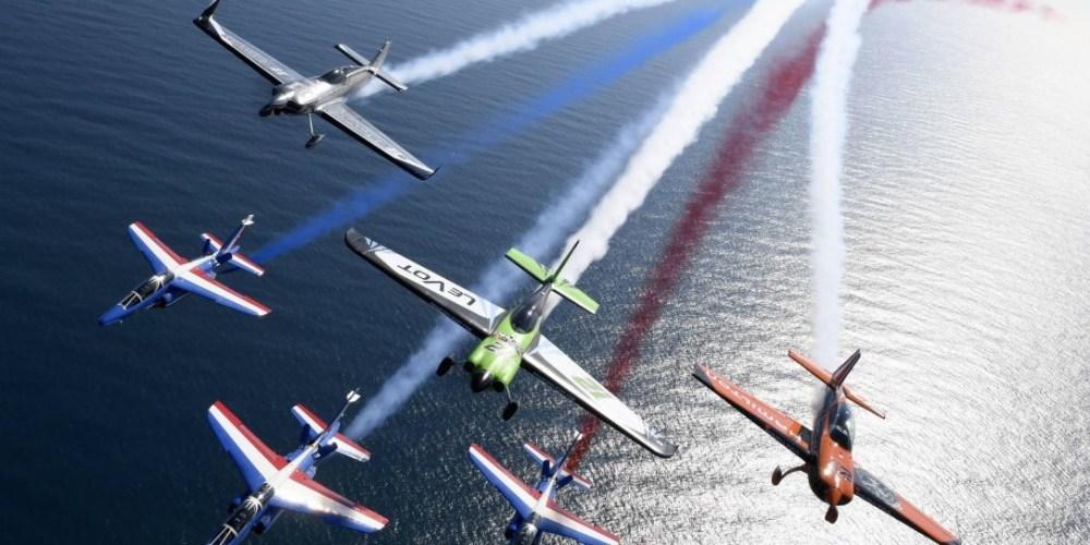 La PAF avec trois pilotes français qui participent à la compétition