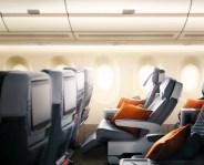Siège Eco Premium Singapore Airlines