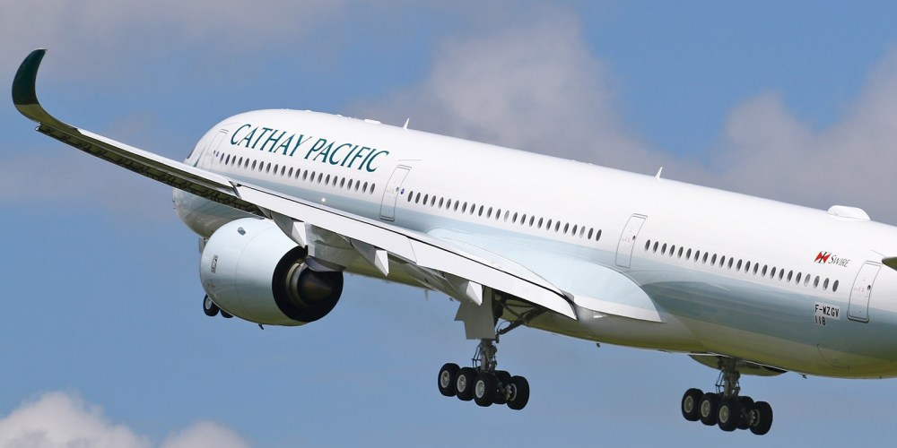 F-WZGV / 1er Airbus A350-1000 Cathay Pacific