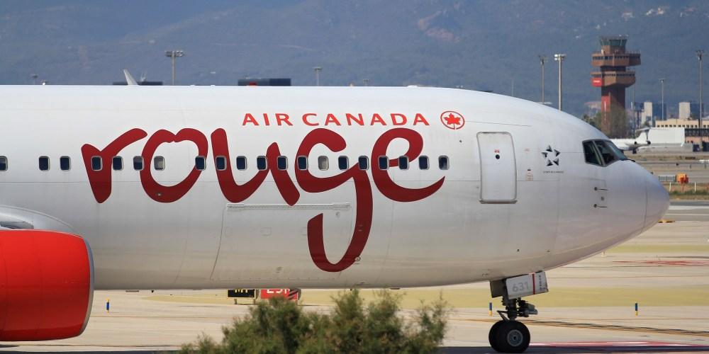 Boeing 767-333(ER) Air Canada Rouge / C-FMWP9