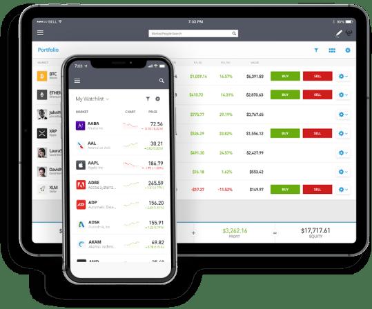 plateforme trading etoro screenshot